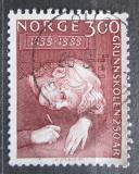 Poštovní známka Norsko 1989 Základní vzdělání, 250. výročí Mi# 1022