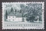 Poštovní známka Norsko 1989 Baronství Rosendal Mi# 1034
