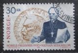 Poštovní známka Norsko 1990 Nathan Soderblom, teolog Mi# 1056