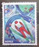 Poštovní známka Norsko 1997 MS ve skocích na lyžích Mi# 1242