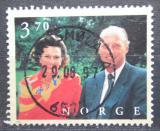 Poštovní známka Norsko 1997 Královský pár Mi# 1245