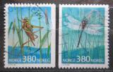 Poštovní známky Norsko 1998 Hmyz Mi# 1275-76