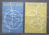 Poštovní známky Norsko 2004 Od člověka k člověku Mi# 1488-89