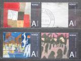 Poštovní známky Norsko 2008 Umění Mi# 1665-68 Kat 8€