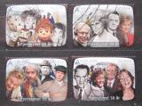 Poštovní známky Norsko 2010 Norská televize, 50. výročí Mi# 1726-29 Kat 8.80€