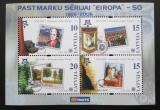 Poštovní známky Lotyšsko 2006 Evropa CEPT Mi# Block 21