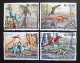 Poštovní známky Svatý Tomáš 2010 Dinosauři Mi# 4383-86 Kat 12€
