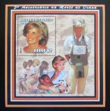 Poštovní známka Mosambik 2002 Princezna Diana Mi# Block 157 Kat 11€