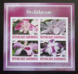 Poštovní známky Gabon 2017 Orchideje neperf. Mi# N/N
