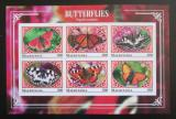 Poštovní známky Mauritánie 2017 Motýli neperf. Mi# N/N