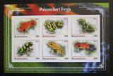 Poštovní známky Mauritánie 2018 Jedovaté žáby neperf. Mi# N/N