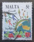 Poštovní známka Malta 1995 Sjezd mládeže Mi# 950