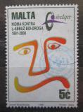 Poštovní známka Malta 1996 Boj proti drogám Mi# 985