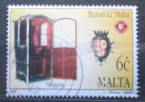 Poštovní známka Malta 1997 Historická nosítka Mi# 1009