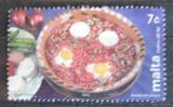 Poštovní známka Malta 2002 Maltská kuchyně Mi# 1233
