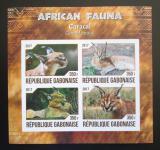 Poštovní známky Gabon 2017 Karakal neperf. Mi# N/N