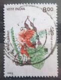 Poštovní známka Indie 1993 Erythrina variegata Mi# 1400
