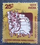 Poštovní známka Indie 1974 Kongres mlékárenského průmyslu Mi# 613