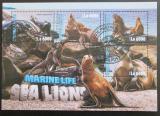Poštovní známky Sierra Leone 2016 Lachtani Mi# 7083-86 Kat 11€