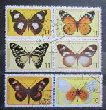 Poštovní známky Svatý Tomáš 1979 Motýli Mi# 561-66 Kat 12€