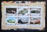 Poštovní známky Baškortostán, Rusko 2018 Staré automobily Mi# N/N