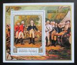 Poštovní známka Manáma 1971 Generál Burgoyne Mi# Block 158 A