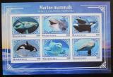Poštovní známky Mauritánie 2018 Mořští savci neperf. Mi# N/N