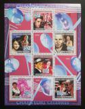 Poštovní známky Komory 2009 Slavní zpěváci Mi# 2245-50 Kat 11€