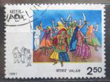 Poštovní známka Indie 1991 Lidový tanec Valar Mi# 1298