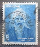 Poštovní známka Indie 1960 Subramania Bharati Mi# 315