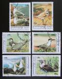 Poštovní známky Kambodža 2000 Mořští ptáci Mi# 2078-83