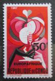 Poštovní známka Kongo 1967 EUROPAFRIQUE Mi# 133