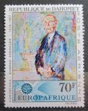 Poštovní známka Dahomey 1967 EUROPAFRIQUE, Konrad Adenauer Mi# 318