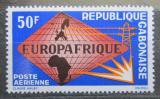 Poštovní známka Gabon 1965 EUROPAFRIQUE Mi# 227