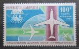Poštovní známka Gabon 1967 Civilní letectví Mi# 277