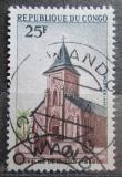 Poštovní známka Kongo 1970 Kostel v Linzolo Mi# 206
