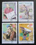 Poštovní známky Vietnam 1980 Den pošty Mi# 1119-22