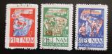 Poštovní známky Vietnam 1965 První pětiletka Mi# 420-22