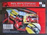 Poštovní známky Finsko 2000 Rallye, Tommi Mäkinen Mi# Block 23