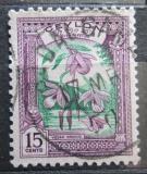 Poštovní známka Cejlon 1950 Orchideje Mi# 261