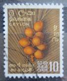 Poštovní známka Cejlon 1958 Kokosové ořechy Mi# 299