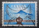 Poštovní známka Cejlon 1954 Přehrada Gat-Oya Mi# 274