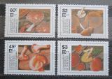 Poštovní známky Dominika 1987 Houby TOP SET Mi# 1036-39 Kat 15€
