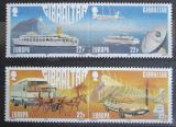 Poštovní známky Gibraltar 1988 Evropa CEPT, Transport Mi# 544-47