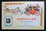 Poštovní známka Gibraltar 1990 Penny Black, 150. výročí Mi# Block 15
