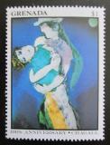 Poštovní známka Grenada 1986 Umění, Marc Chagall Mi# 1543