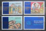 Poštovní známky Keňa 1988 WHO, 40. výročí Mi# 443-46