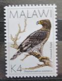 Poštovní známka Malawi 1988 Orel korunkatý Mi# 515 Kat 7€