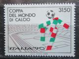 Poštovní známka Itálie 1988 MS ve fotbale Mi# 2049 Kat 4.50€