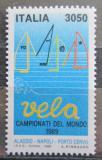 Poštovní známka Itálie 1989 MS plachetnic Mi# 2075 Kat 5.50€